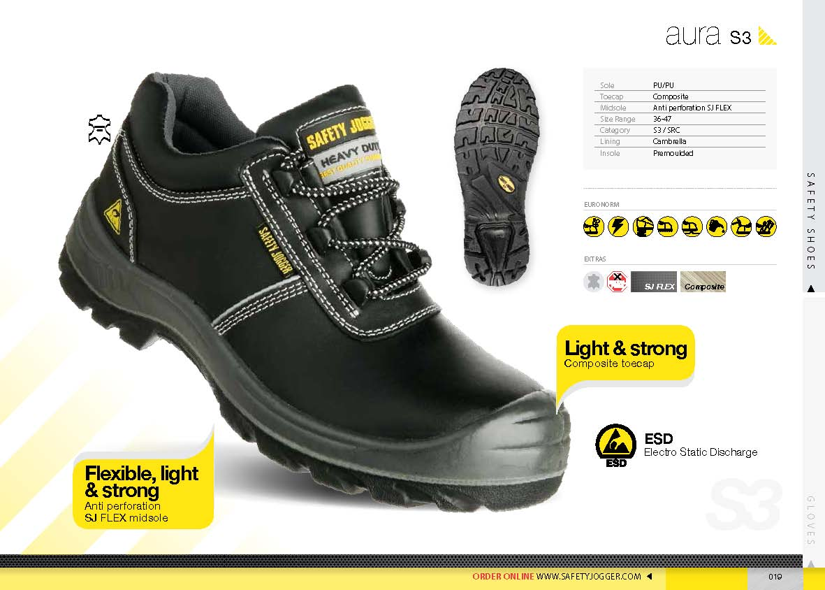 safety shoes safety Jogger Aura S3 ESD