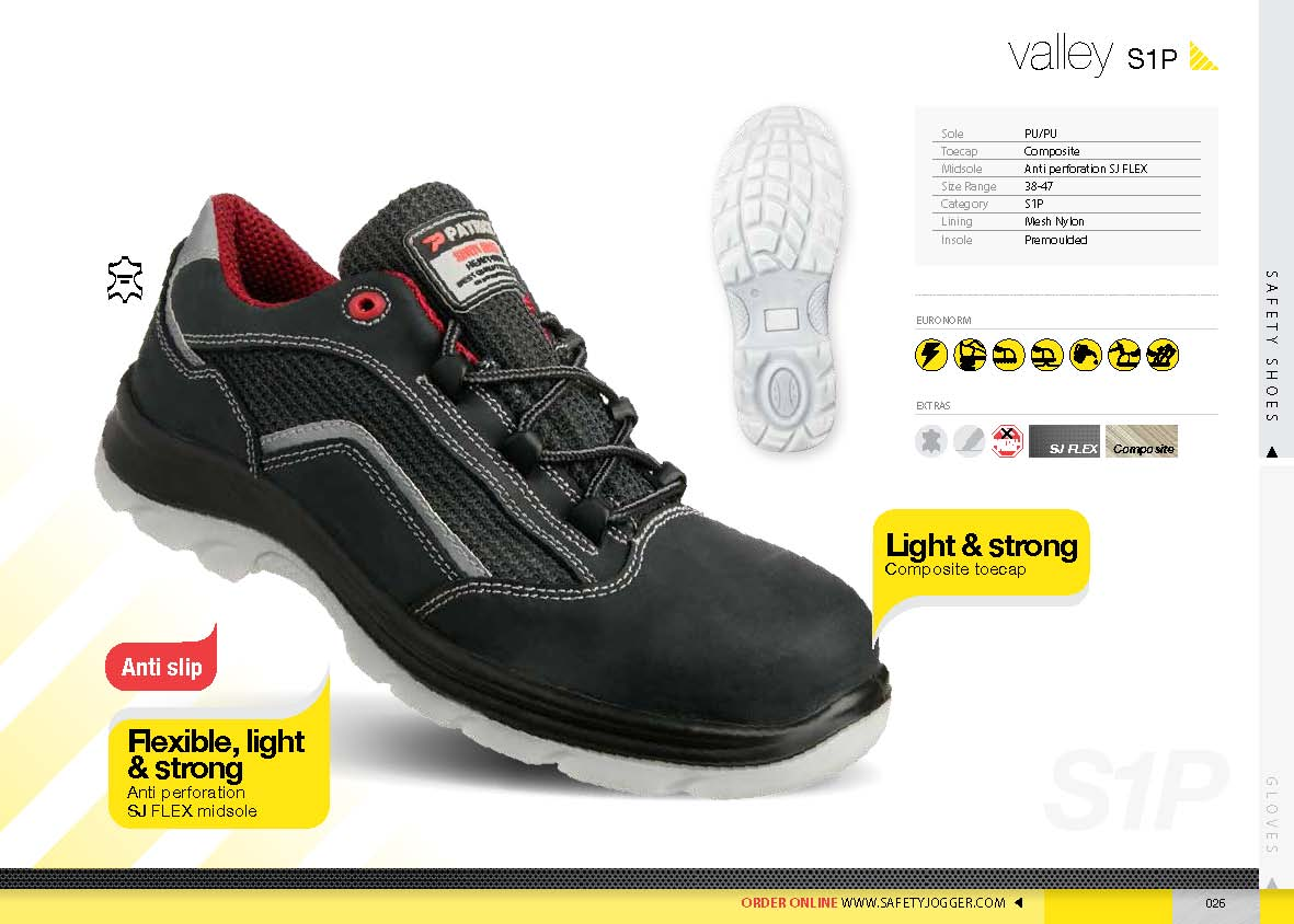 safety shoes safety Jogger Valley