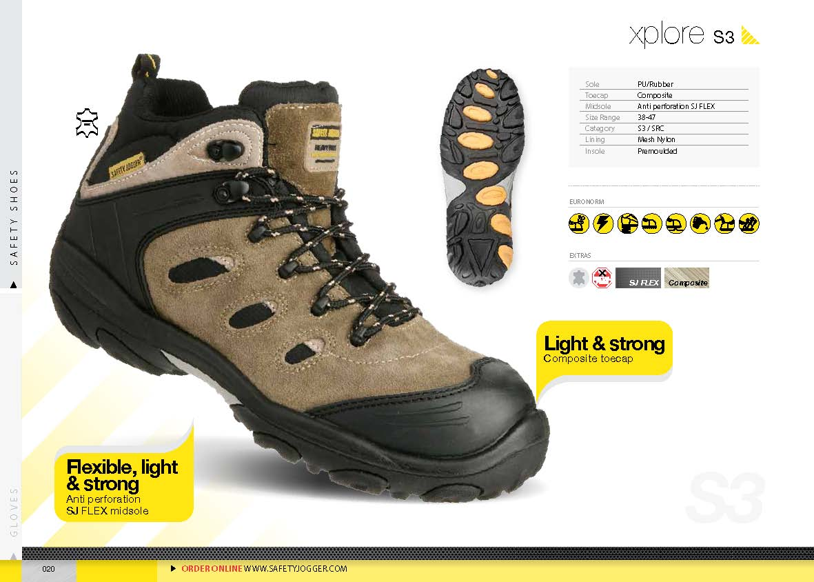 safety shoes safety Jogger Xplore S3