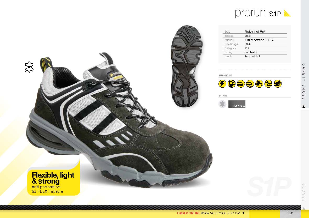 safety shoes safety Jogger prorun